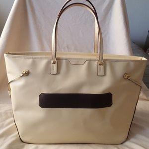 Henri Bendel XL Saffiano Leather Tote Bag